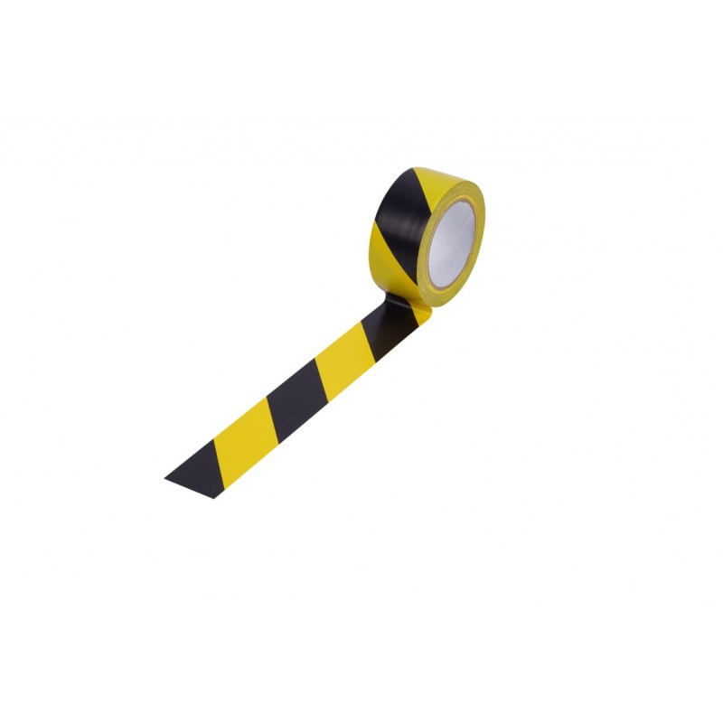 Лепяща лента черно-жълта