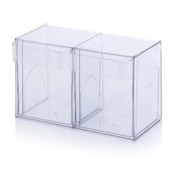Прозрачни кутии за сортиране KKS 2 t, 60 x 29.9 x 35.3 cm