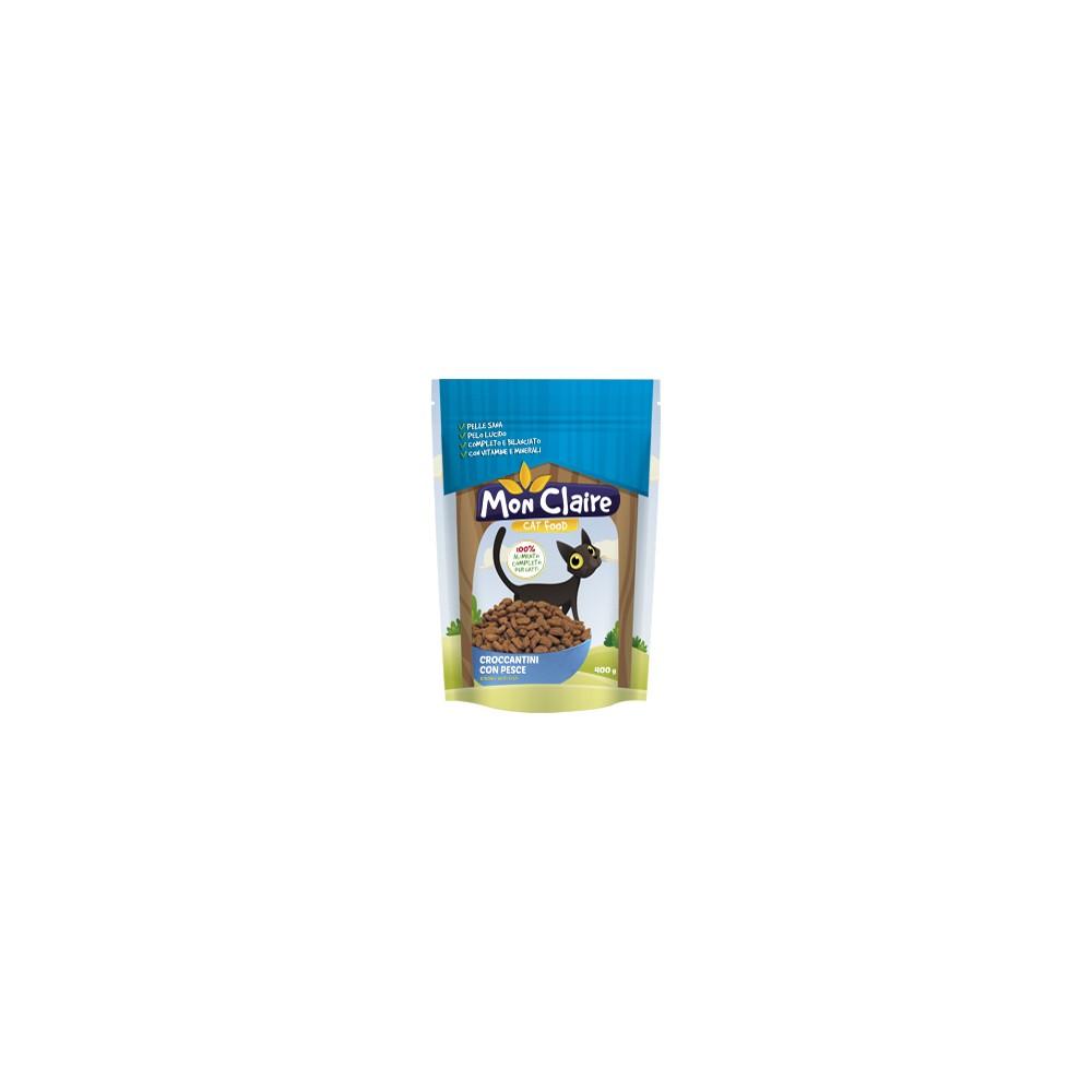 Суха храна за котки Mon claire - с риба 0,400 кг.