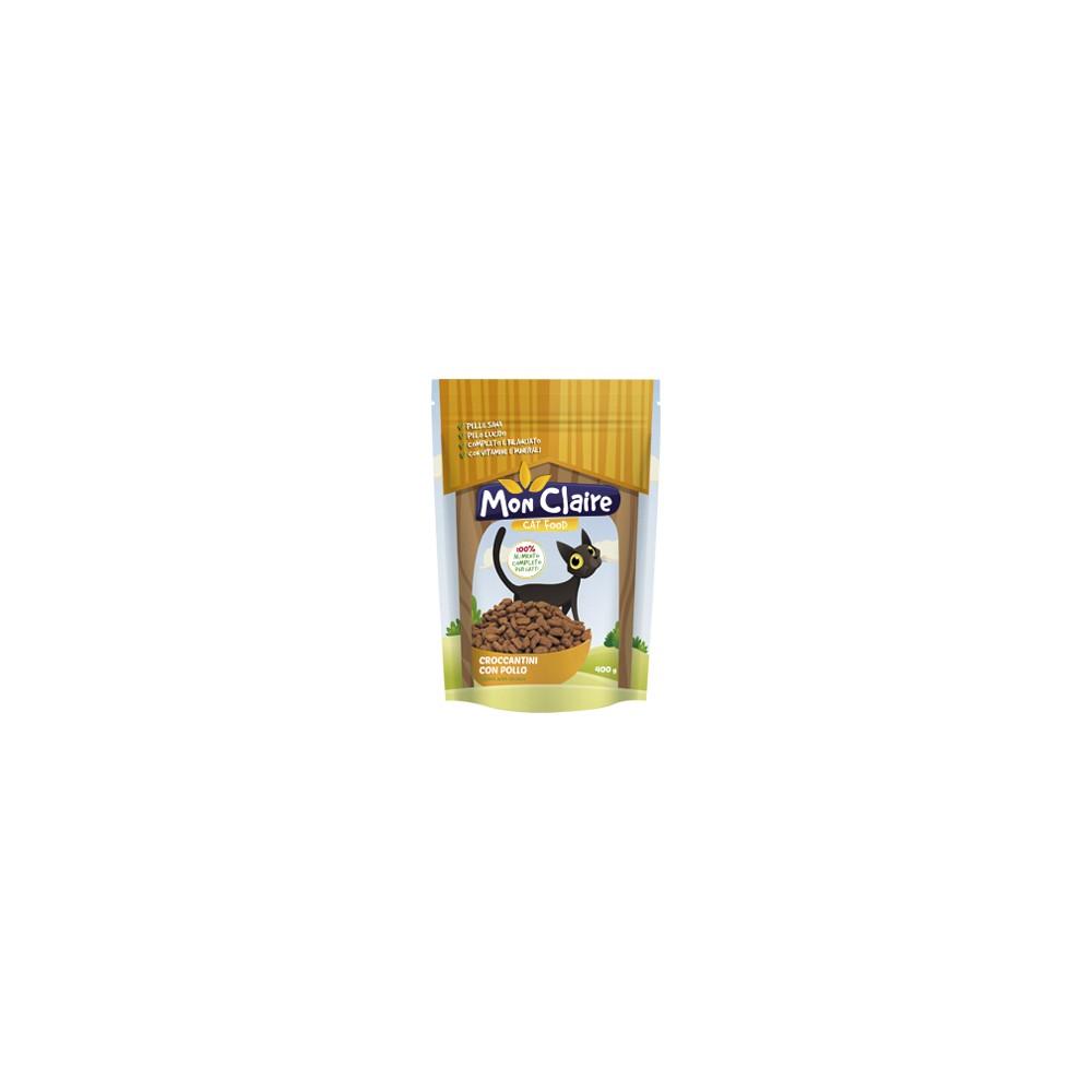 Суха храна за котки Mon claire - с пилешко месо 0,400 кг.