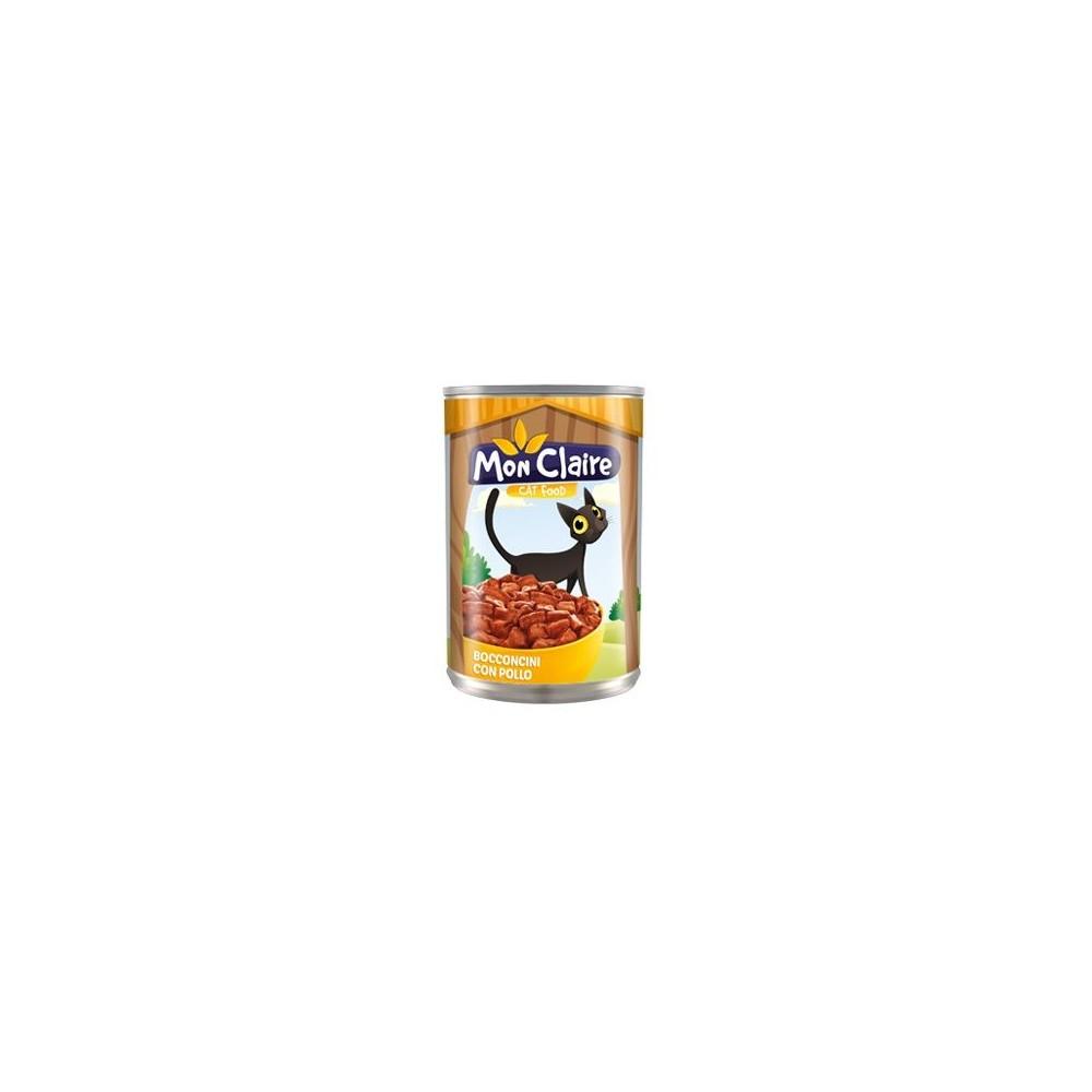 Храна за котки MON CLAIRE - с пилешко 0,405кг
