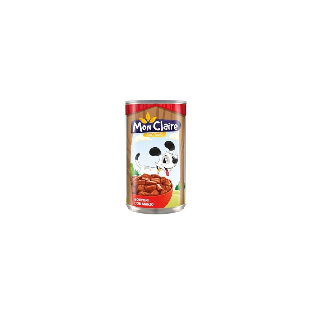 Храна за кучета MON CLAIRE - с говеждо 1,250кг