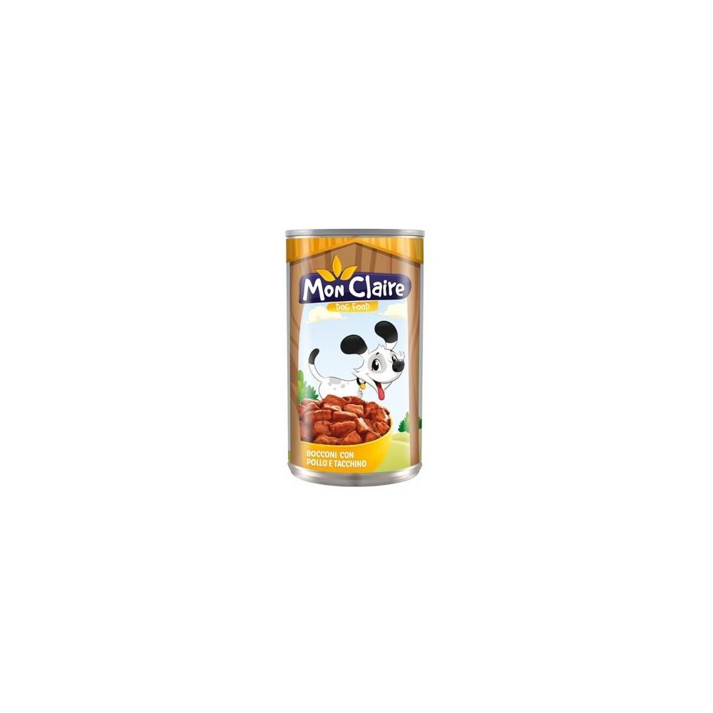 Храна за кучета MON CLAIRE - със пилешко и пуешко 1,250кг