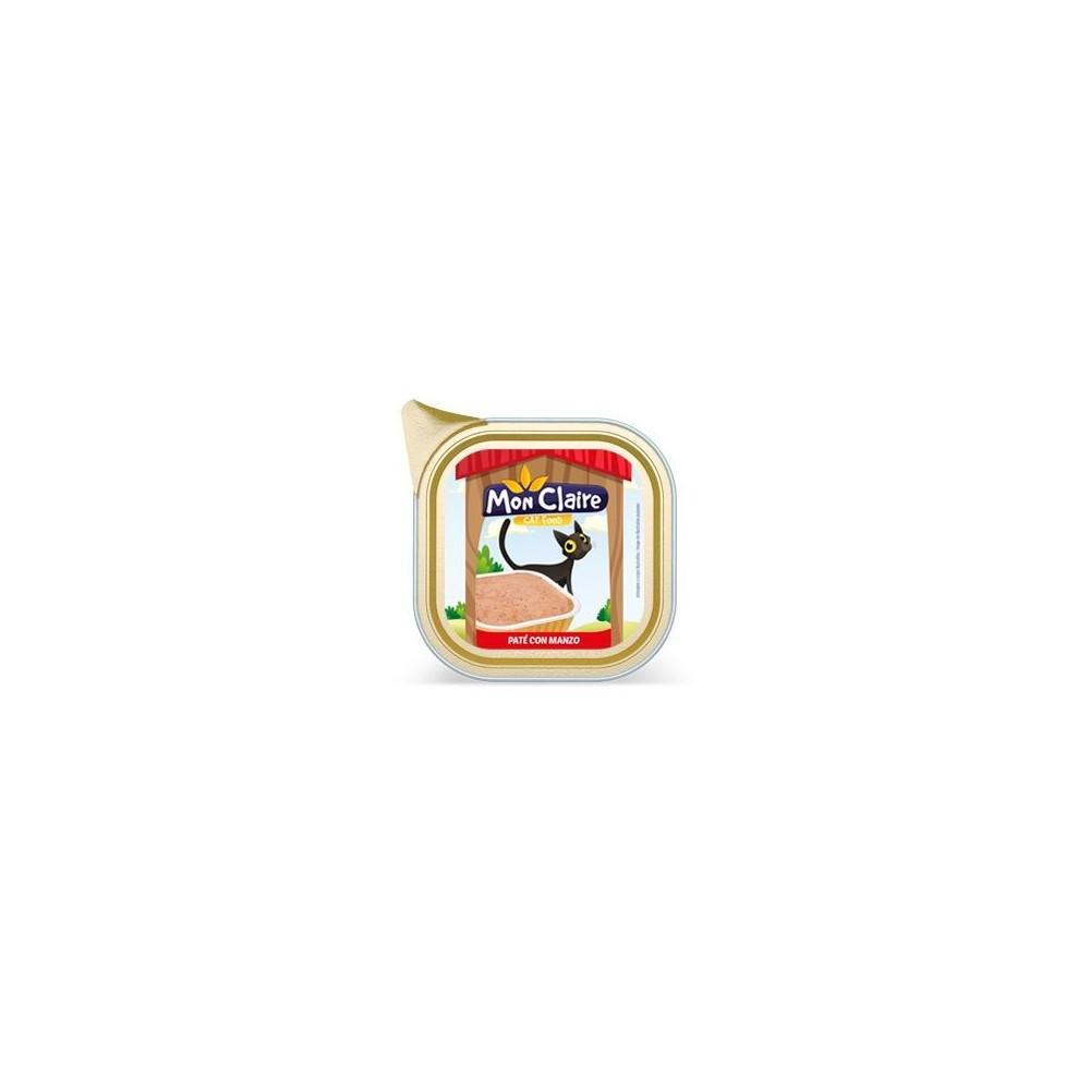 Храна за котки MON CLAIRE - пастет с говеждо 0,100кг