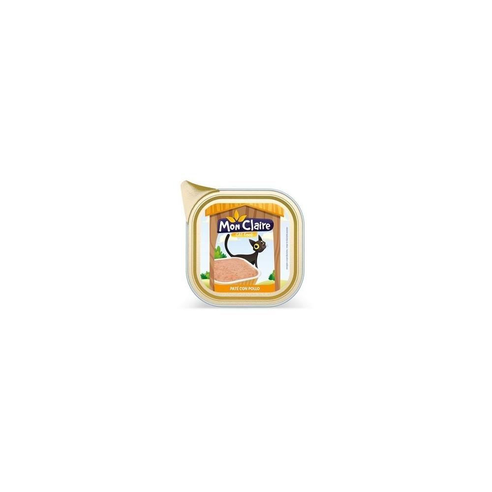 Храна за котки MON CLAIRE - пастет с пиле 0,100кг