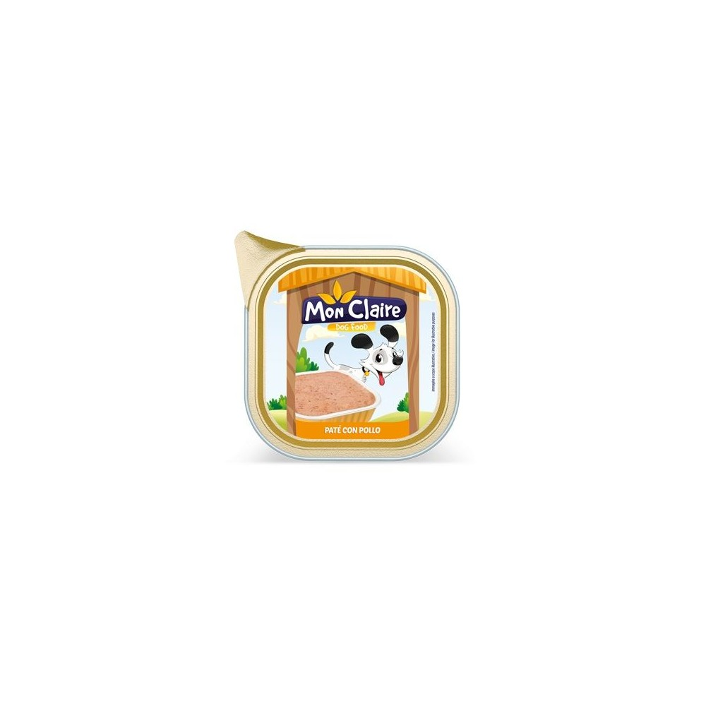 Храна за кучета MON CLAIRE - пастет с пиле 0,300кг