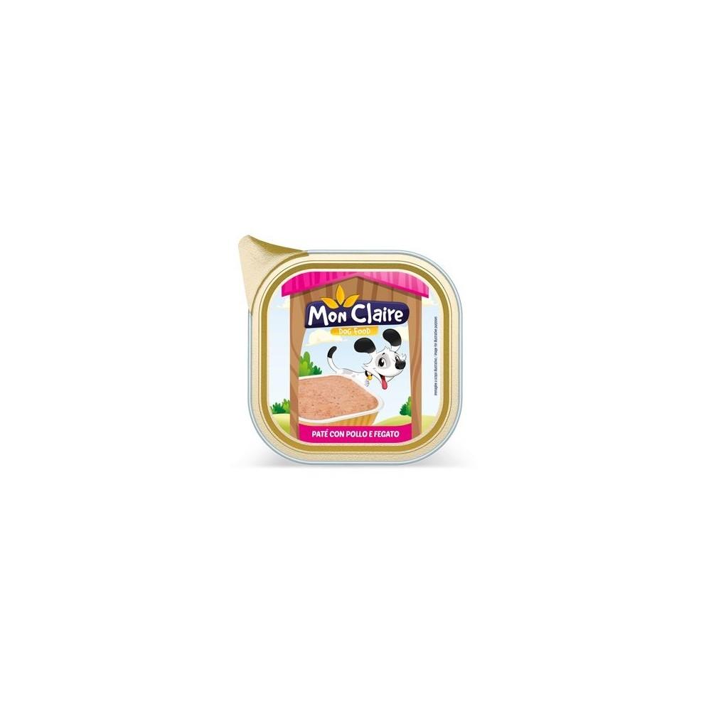 Храна за кучета MON CLAIRE - пастет с пиле и черен дроб 0,300кг