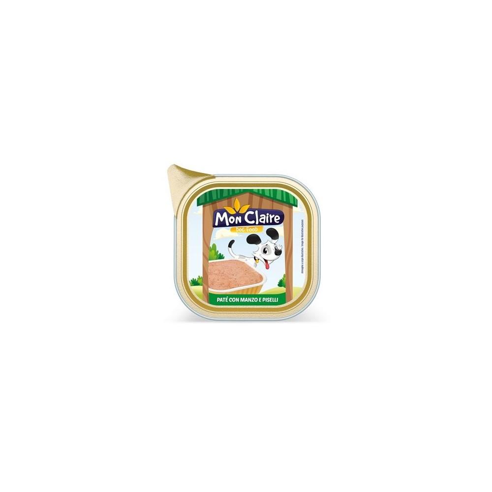 Храна за кучета MON CLAIRE - пастет с говеждо и грах 0,300кг
