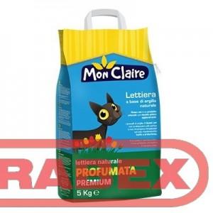 Котешка тоалетна Mon claire - ароматизирана 5 кг.