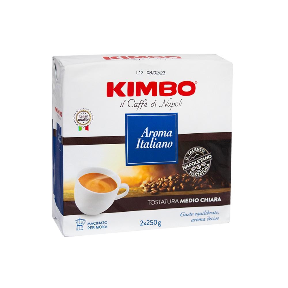 Кафе мляно Kimbo Aroma Italiano 2 X 250гр