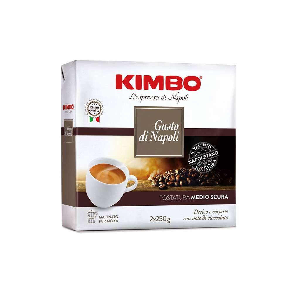 Кафе мляно Kimbo Gusto di Napoli - 2х250гр.