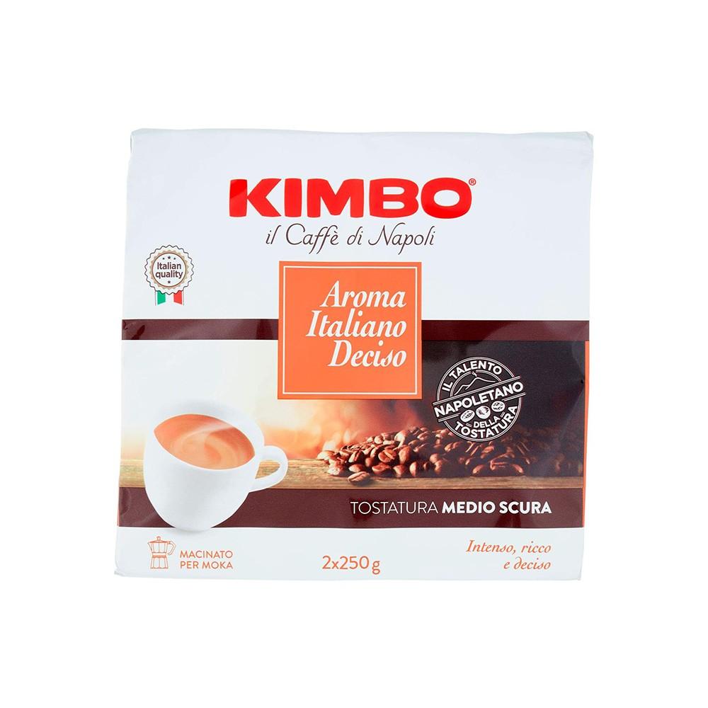 Кафе мляно Kimbo Aroma Italiano Deciso 2 X 250гр
