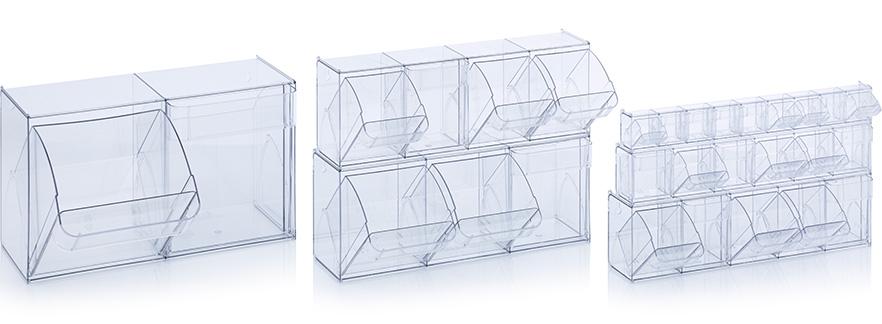 Прозрачни кутии за сортиране